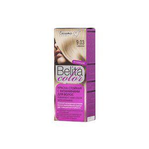 Стойкая краска с витаминами для волос 9.03 Саванна
