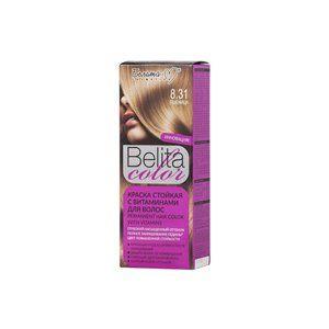 Стойкая краска с витаминами для волос 8.31 Пшеница