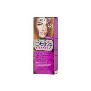 Стойкая краска с витаминами для волос 8.04 Коньяк