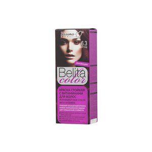 Стойкая краска с витаминами для волос 6.3 Бургунд