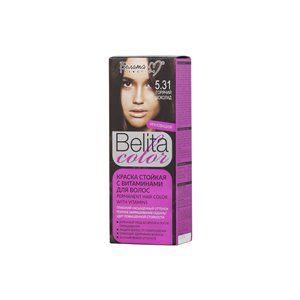 Стойкая краска с витаминами для волос 5.31 Горячий шоколад