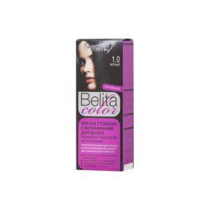 Стойкая краска с витаминами для волос 1.0 Черный
