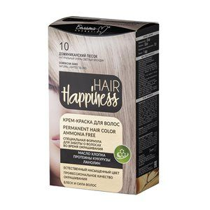 Крем-краска для волос 10 Доминиканский песок Натуральный очень светлый блондин