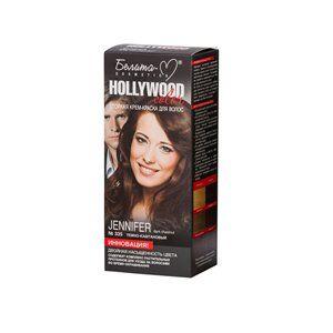 Стойкая крем-краска для волос №335  ДЖЕНИФЕР ( Jeniferr ) темно-каштановый