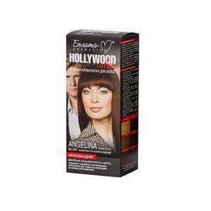 Стойкая крем-краска для волос №337  АНДЖЕЛИНА ( Angelina )  золотисто-коричневый