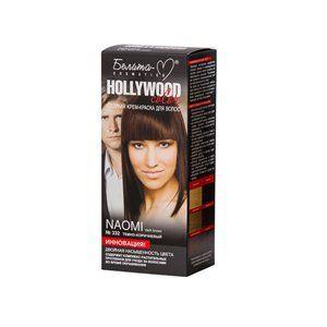 Стойкая крем-краска для волос №332  НАОМИ ( Naomi )   темно-коричневый