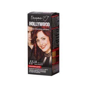 Стойкая крем-краска для волос №387  ДЖУЛИЯ  ( Julia )   темно-медный