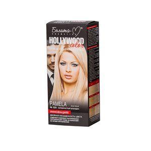 Стойкая крем-краска для волос №329  ПАМЕЛА (  Pamela ) серебристый блондин