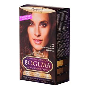 Крем-краска для волос без аммиака Золотисто-коричневый