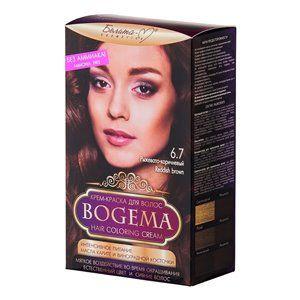 Крем-краска для волос без аммиака Рыжевато-коричневый