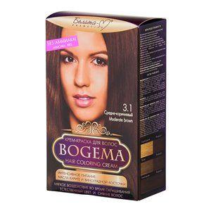 Крем-краска для волос без аммиака Средне-коричневый