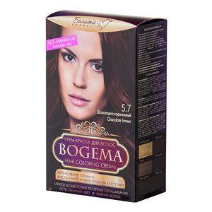 Крем-краска для волос без аммиака Шоколадно-коричневый